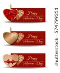 colorful banners set for... | Shutterstock .eps vector #574799251