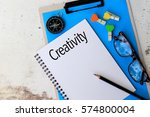 creativity   business concept... | Shutterstock . vector #574800004