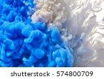 ink drop in water | Shutterstock . vector #574800709