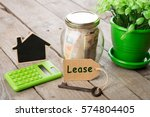 real estate finance concept  ... | Shutterstock . vector #574804405