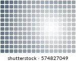 abstract light gray mosaic...   Shutterstock . vector #574827049