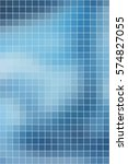 abstract smooth square mosaic...   Shutterstock . vector #574827055
