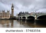 Westminster Bridge With Big Ben ...