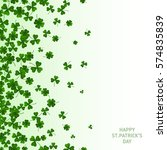 saint patrick's day vertical... | Shutterstock .eps vector #574835839