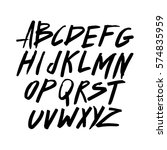 graphic font for your design....   Shutterstock .eps vector #574835959