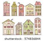 Set Of Doodle Cute Houses. Coz...