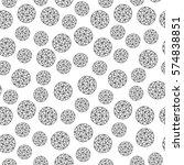 geometric seamless pattern... | Shutterstock .eps vector #574838851