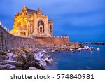 famous constanta casino at...   Shutterstock . vector #574840981