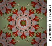 mandalas background. colorful...   Shutterstock .eps vector #574852681