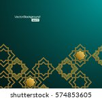 3d abstract background with... | Shutterstock .eps vector #574853605