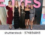 los angeles   feb 7   laura... | Shutterstock . vector #574856845