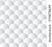 white gradient scallops... | Shutterstock .eps vector #574878649