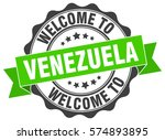 venezuela. welcome to venezuela ... | Shutterstock .eps vector #574893895