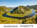 rijeka crnojevica  montenegro | Shutterstock . vector #574895779