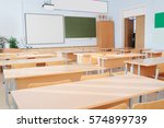 interior of a school class | Shutterstock . vector #574899739