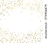 Gold Glitter Background Polka...