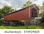 Mull Covered Bridge  Built In...