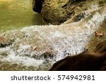 Abstract Waterfall Shot Photo...