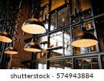 Stock photo interior bar 574943884