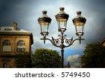 decorative lamps against a...