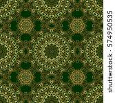 golden stylized stars on a... | Shutterstock .eps vector #574950535