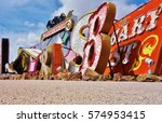 las vegas  nv  10 apr 2016  the ... | Shutterstock . vector #574953415