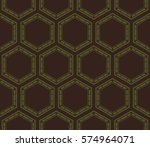 ornamental seamless pattern.... | Shutterstock .eps vector #574964071