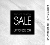 sale promotion template with... | Shutterstock .eps vector #574982095