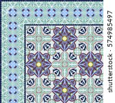 damask beautiful background...   Shutterstock .eps vector #574985497