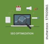 search engine optimization...   Shutterstock .eps vector #575020861