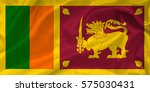 flag of sri lanka | Shutterstock . vector #575030431