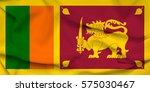 flag of sri lanka | Shutterstock . vector #575030467