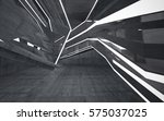 empty dark abstract concrete... | Shutterstock . vector #575037025