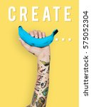 create make something tattooed... | Shutterstock . vector #575052304