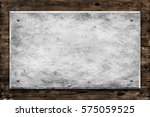 wood with concrete texture... | Shutterstock . vector #575059525