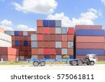 The Stack Of Container Storage...