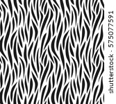 animal abstract skin monochrome ... | Shutterstock .eps vector #575077591