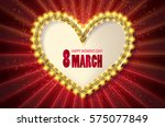 cute greeting card for 8 march. ...
