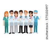 medical professionals icon | Shutterstock .eps vector #575102497