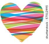 heart vector illustration icons ... | Shutterstock .eps vector #57512995
