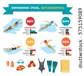 set of infographics about... | Shutterstock .eps vector #575159089