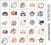 travel logos collection. | Shutterstock .eps vector #575175115