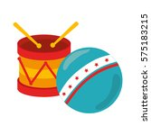 kids toys isolated icon | Shutterstock .eps vector #575183215