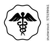 medical symbol isolated icon | Shutterstock .eps vector #575198461