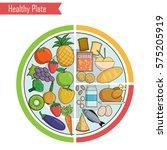 infographic chart  illustration ... | Shutterstock .eps vector #575205919