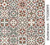a collection of ceramic tiles... | Shutterstock .eps vector #575208595