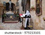 monk | Shutterstock . vector #575213101