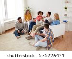 friendship  people and... | Shutterstock . vector #575226421