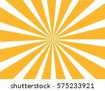 sunburst  background. vector... | Shutterstock .eps vector #575233921
