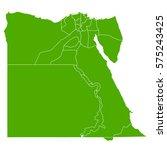 egypt green map   Shutterstock .eps vector #575243425